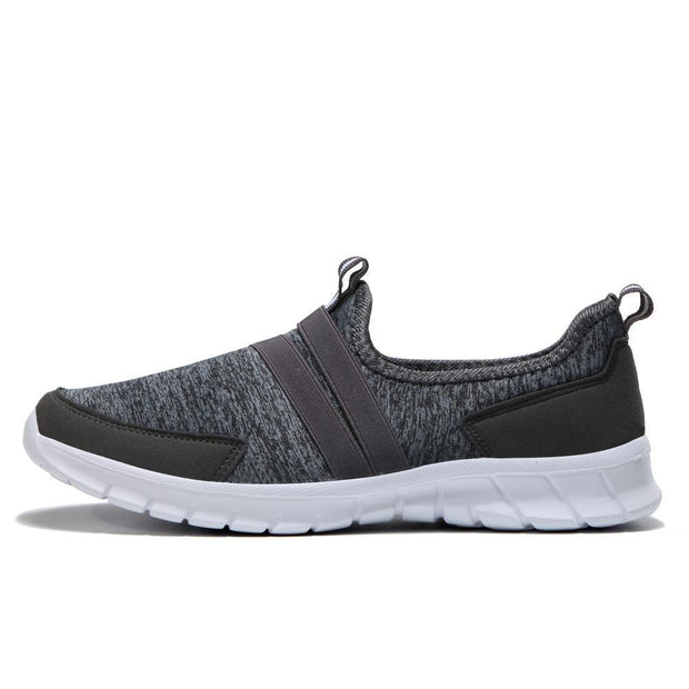 Men Shoe Net Cloth Ultra-Light Fly Line Elastic Leisure Sports Shoes 117359 Dark Gray / Us 6.5 Shoes
