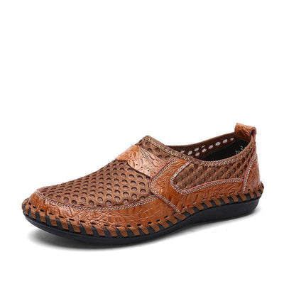 Mens Summer Breathable Mesh Fabrics Casual Slip On Barefoot Shoessecond -30% By Codebts30 Men Shoes