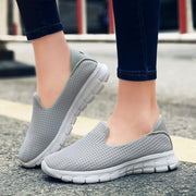 Women Breathable Slip-On Sneakers Shoes