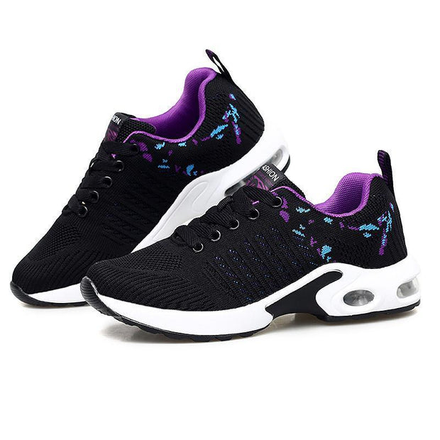 Female Personality Simple And Stylish Free Sneakers Running Shoes 118000 Black / Us 4 Women Shoes