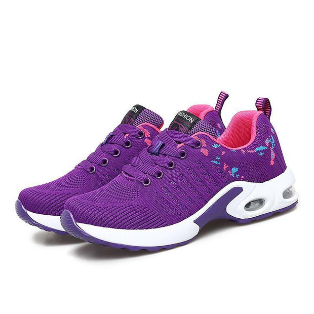 Female Personality Simple And Stylish Free Sneakers Running Shoes 118000 Purple / Us 4 Women Shoes