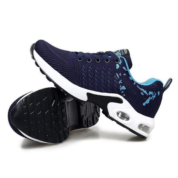 Female Personality Simple And Stylish Free Sneakers Running Shoes 118000 Blue / Us 4 Women Shoes
