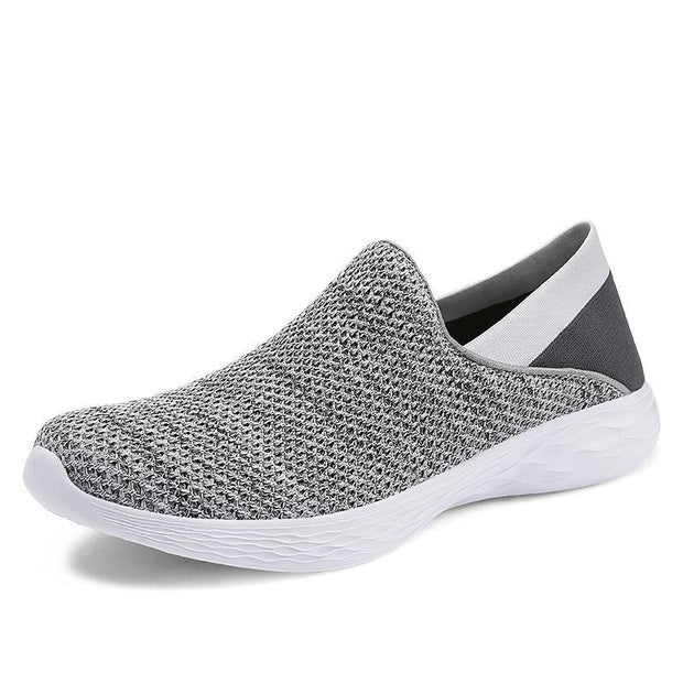 Mens Ultra-Light Lazy Casual Shoes 118048 Gray / Us 6 Men Shoes
