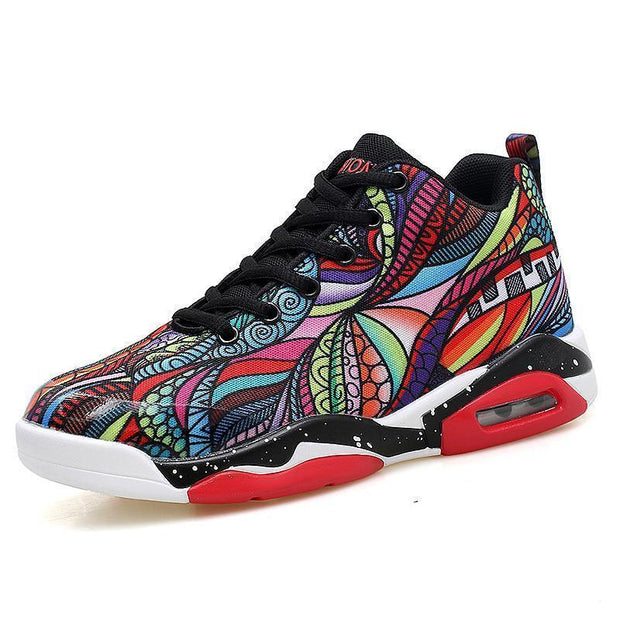 Women Air Cushion Basketball Shoes Running Tennis Fashion Sneaker 118149 Multicolour / Us 4