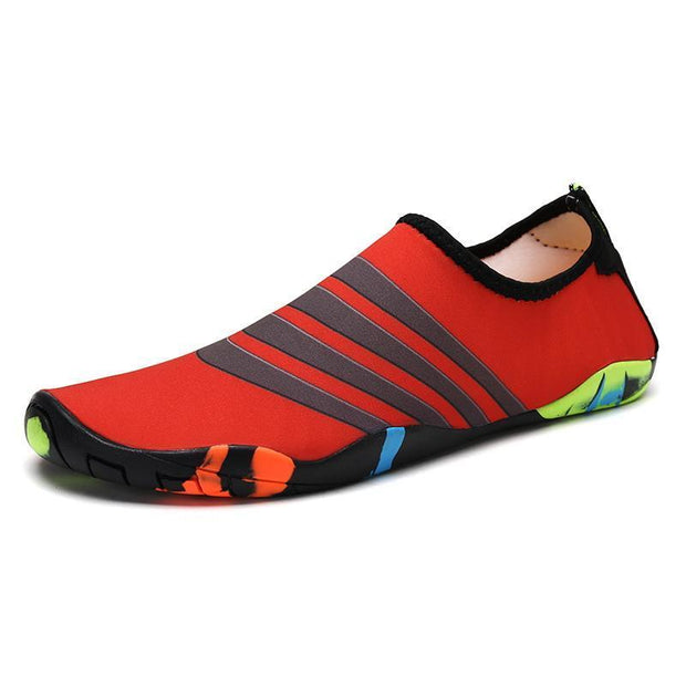 Mens Beach Shoes Swimming 118201 Red / Us 6 Men Shoes