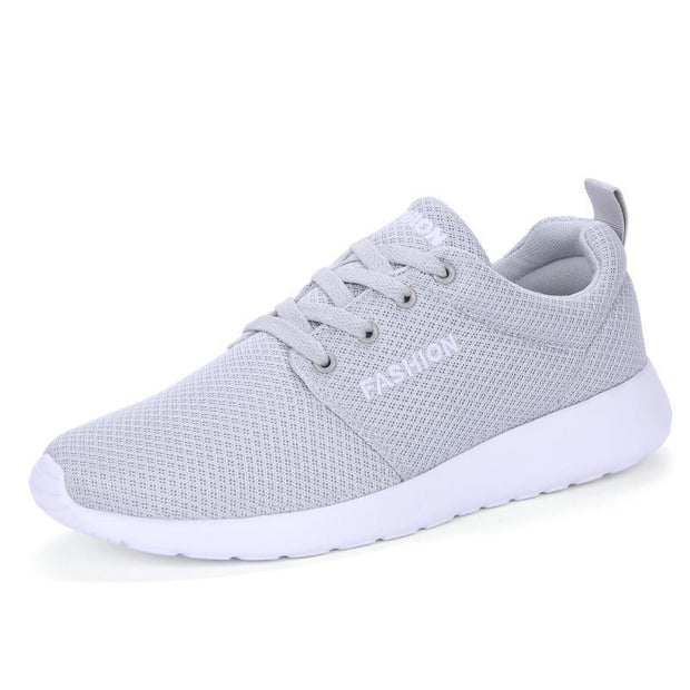 Female Ultra Light Comfortable Spring And Summer Breathable Running Shoes 118247 Gray / Us 4 Women