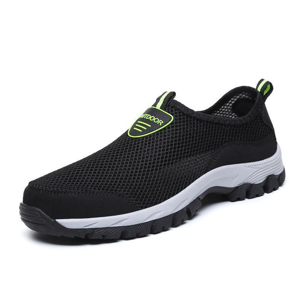 Mens Causal Mesh Non-Slip Wear-Resistant Outdoor Sneakerssecond -30% By Codebts30 118362 Black / Us
