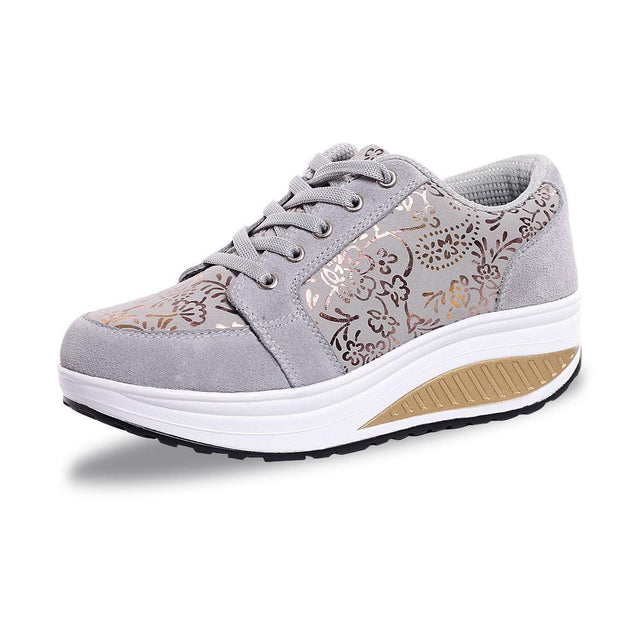 Comfortable Women's Shoes Large Size Increased Shoes 35-42 118493