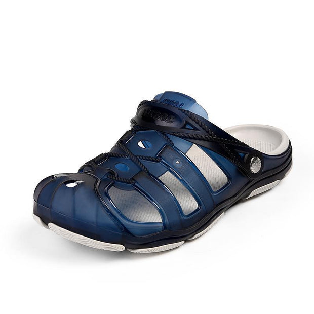 Mens Hole Shoes Sandals Slippers 118675 Dark Blue / Us 8 Men Shoes