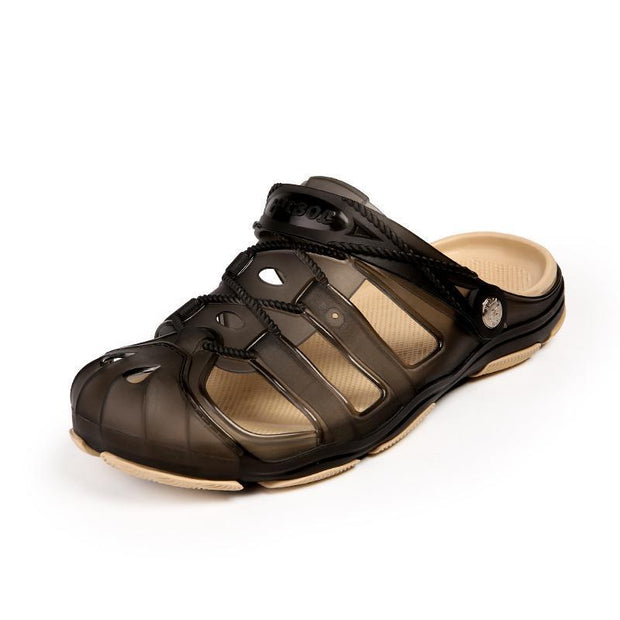 Mens Hole Shoes Sandals Slippers 118675 Black / Us 8 Men Shoes
