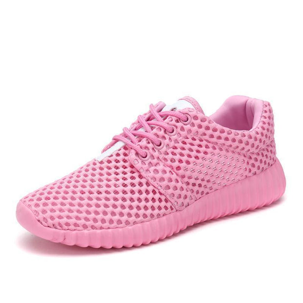 Women Casual Breathable Durable Outdoor Sneakers 118707 Pink / Us 4 Shoes
