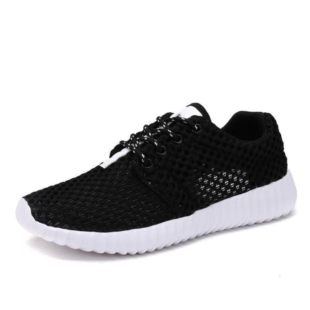 Women Casual Breathable Durable Outdoor Sneakers 118707 Black / Us 4 Shoes