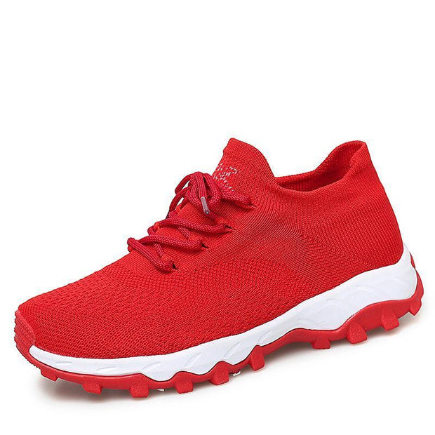 Sports Shoes Female Autumn Running Non-Slip Wear-Resistant Womens 118715 Red / Us 5 Women