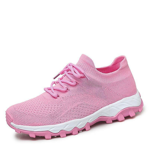 Sports Shoes Female Autumn Running Non-Slip Wear-Resistant Womens 118715 Pink / Us 5 Women