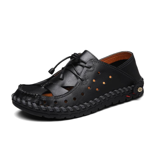 Mens New High Quality Summer Beach Wading Shoes With Mesh Breathable 118724 Black / Us 6.5 Men