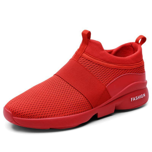Mens Casual Sports Shoes Mesh 118881 Red / Us 7 Men Shoes