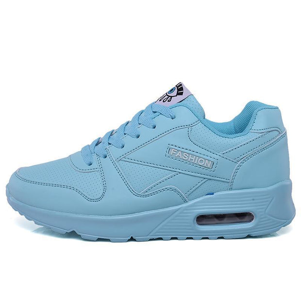 New Student Sneakers Womens Sports Shoes Fashion Casual Flat Running 119413 Light Blue / Us 4 Women