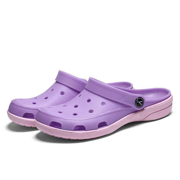 Women Hole Light Quick Drying Sandal Slippers 119542 Purple / Us 5 Shoes