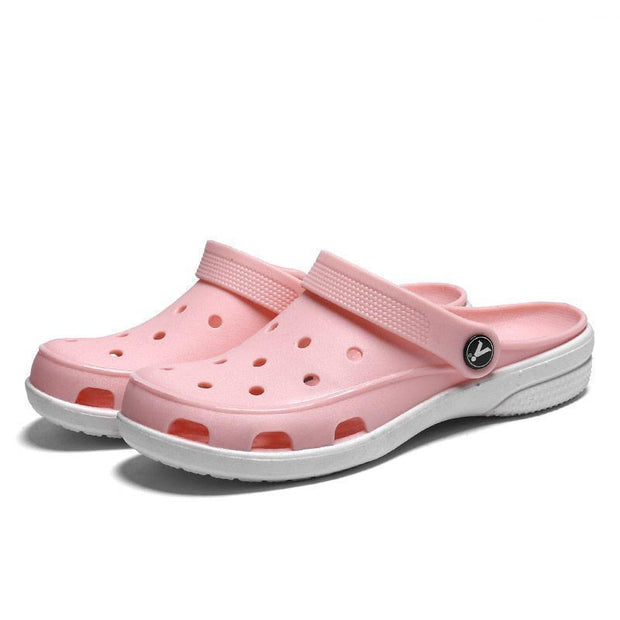 Women Hole Light Quick Drying Sandal Slippers 119542 Pink / Us 5 Shoes