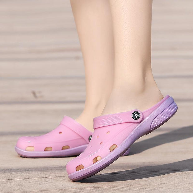 Women Hole Light Quick Drying Sandal Slippers Shoes
