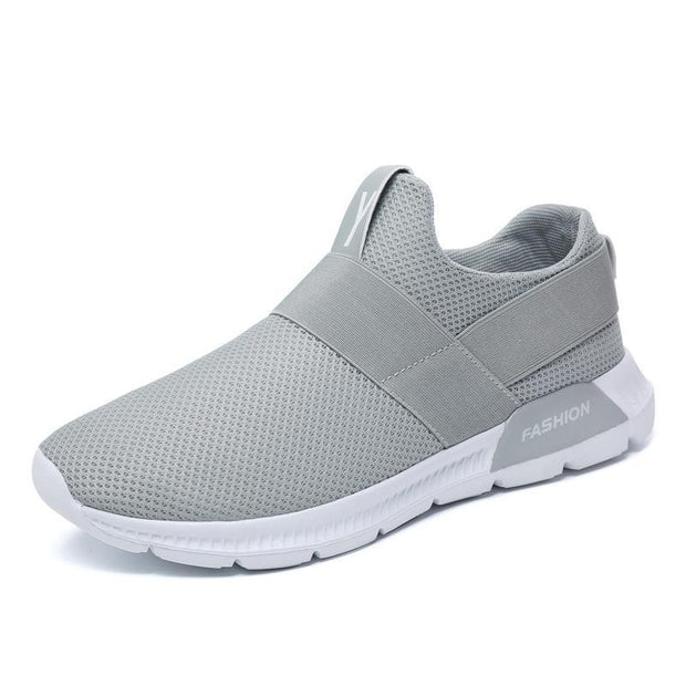 Mens Sneakers Breathable Athletic Running Walking Gym Casual Shoes 121079 Gray / Us 7 Men