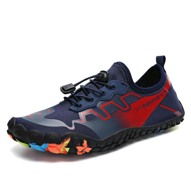 Mens Multi-Purpose Outdoor Shoes Five-Finger Shoessecond -30% By Codebts30 121239 Dark Blue Red / Us