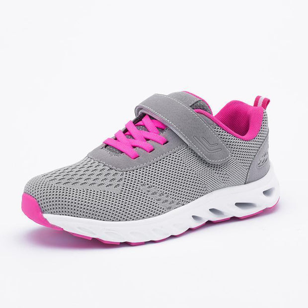 Women Breathable Travel Walking Sneakers 121290 Gray / Us 5 Shoes
