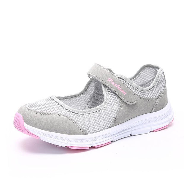 Womens Shoes Light Soft Comfortable Non-Skid For The Elderly Eurse Casual Sneakers 121345 Gray / Us