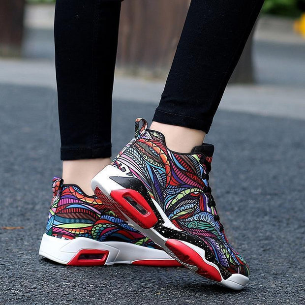 Women Air Cushion Basketball Shoes Running Tennis Fashion Sneaker