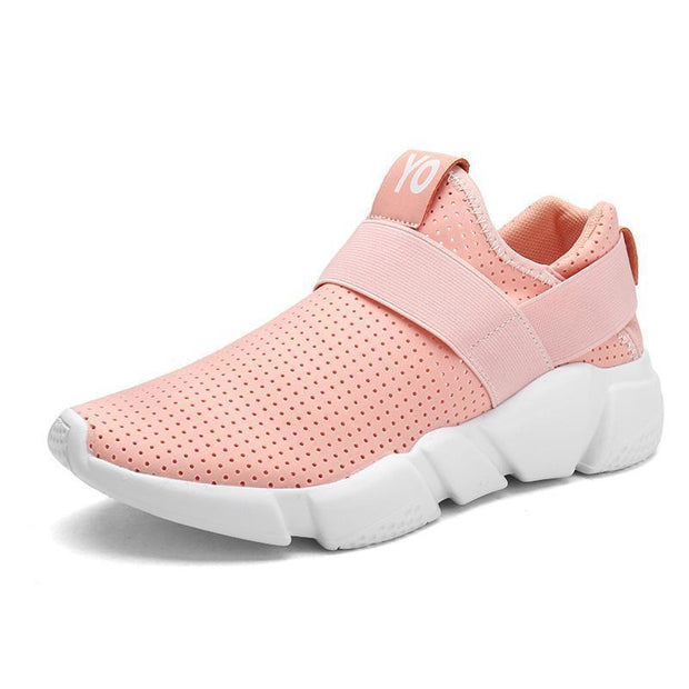 Woman Fashion Breathable Casual Light Walking Sneakers 121886 Pink / Us 5 Women Shoes