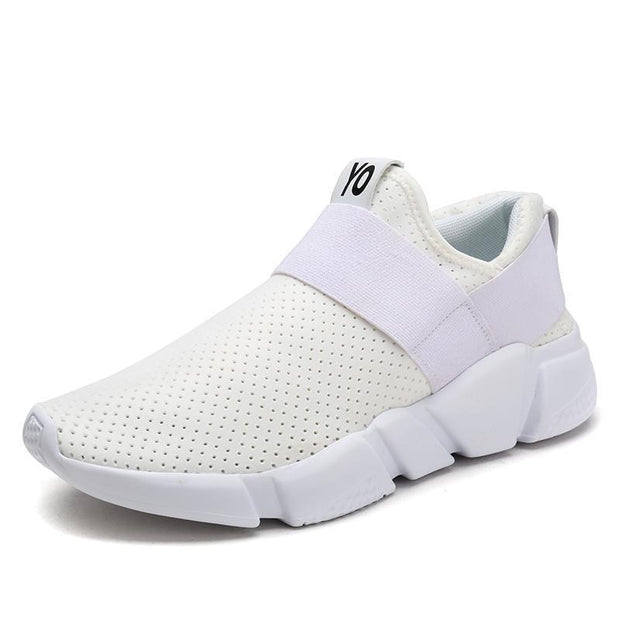 Woman Fashion Breathable Casual Light Walking Sneakers 121886 White / Us 5 Women Shoes