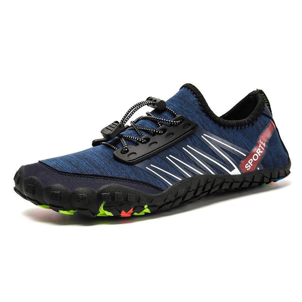 New Mens Waterproof Shoes Hiking Casual Sports Swimming 122007 Blue / Us 6.5 Men
