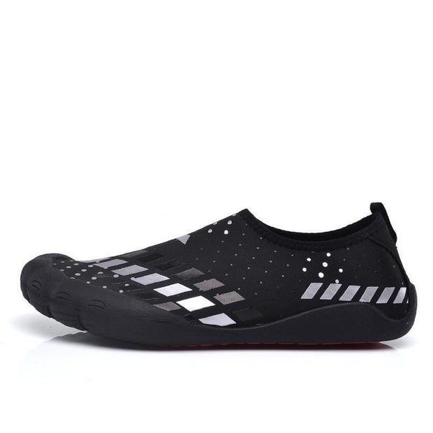 Mens Breathable Comfortable Non-Slip Fitness Shoes Swimming Multi-Functional Sports 122077 White /