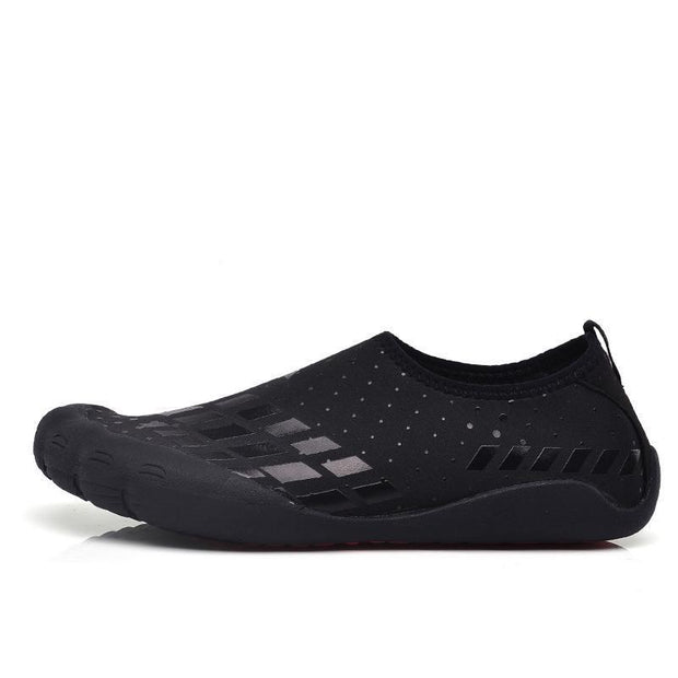 Mens Breathable Comfortable Non-Slip Fitness Shoes Swimming Multi-Functional Sports 122077 Black /
