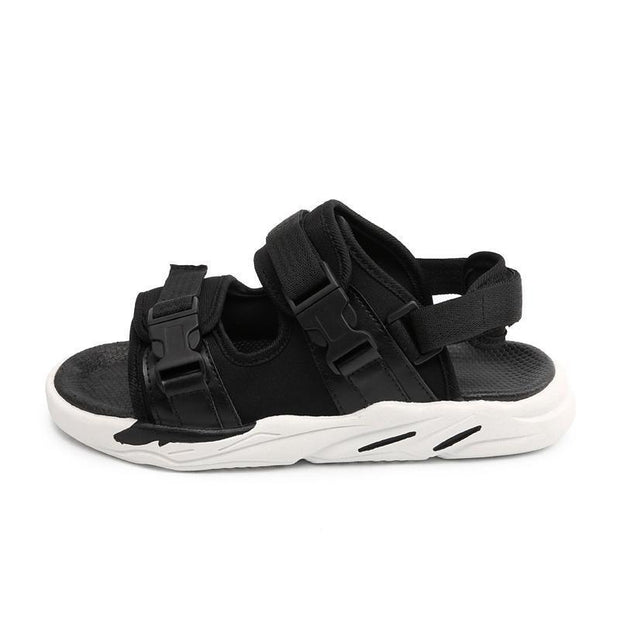New Mens Fashion Wear-Resistant Anti-Slip Sandals Velcro Comfortable Slippers Beach Shoes 122270
