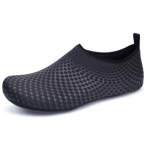 Mens Comfortable Swimming Shoes Outdoor Diving Casual Set Feet 123409 Black / Us 6 Men Shoes