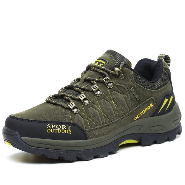 Mens Mesh Hiking Shoes Outdoor Leisure Breathable 123554 Green / Us 6 Men Shoes