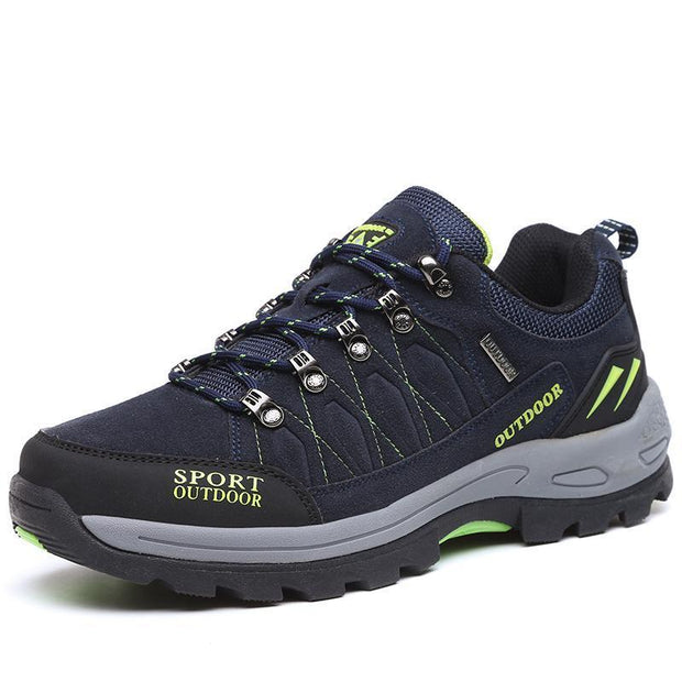Mens Mesh Hiking Shoes Outdoor Leisure Breathable 123554 Blue / Us 6 Men Shoes