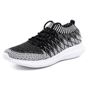 Mens Ultra Light Flying Woven Socks Coconut Sports Casual Tide Shoes Running 123795 Light Gray / Us