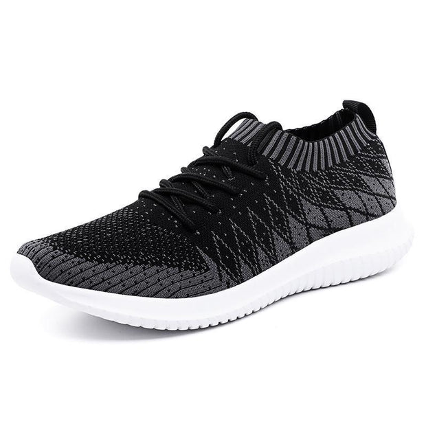 Mens Ultra Light Flying Woven Socks Coconut Sports Casual Tide Shoes Running 123795 Dark Gray / Us