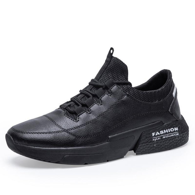Men Sports Casual Sneakers Breathable Running Fashion Shoes 123941 Black / Us 6.5