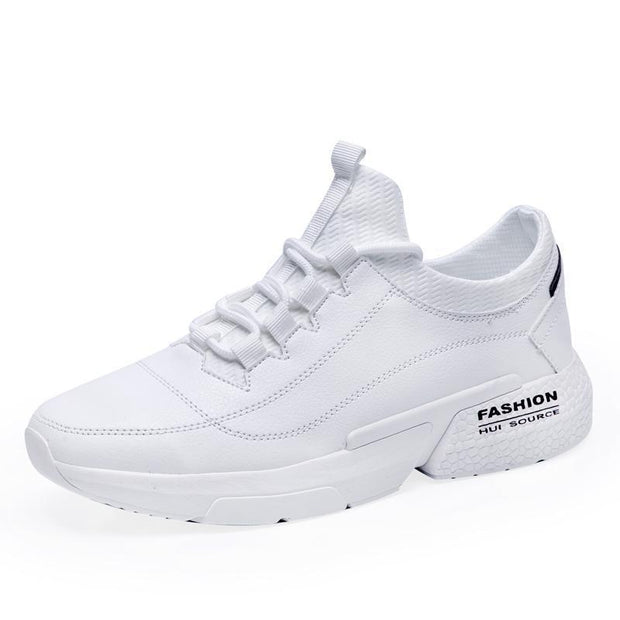Men Sports Casual Sneakers Breathable Running Fashion Shoes 123941 White / Us 6.5
