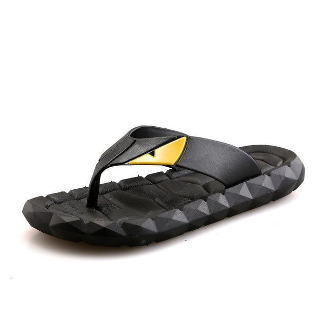 Mens Casual Fashion Slippers 125677 Black / Us 6.5 Men Shoes