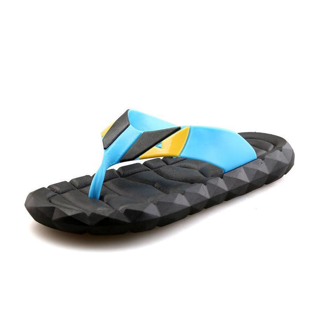 Mens Casual Fashion Slippers 125677 Blue / Us 6.5 Men Shoes