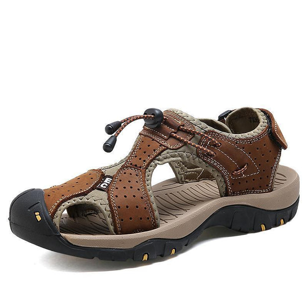 Men Outdoor Fashionable Comfortable Hiking Sandals 127121 Brown / Us 6.5 Shoes