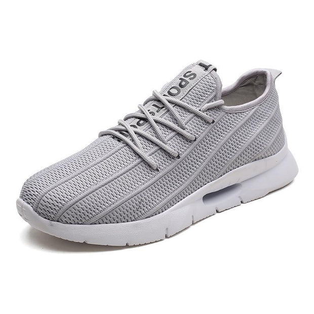Mens Knit Casual Shoes Fashion Wild Sports Outdoor Breathable Running 127267 Gray / Us 7.5 Men Shoes