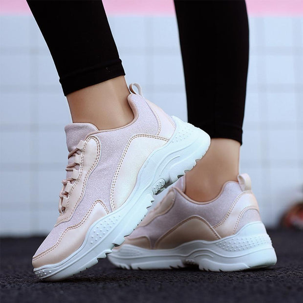 Women Fashion Shoes Breathable Comfortable Sneakers Casual Soft Sole Athletic Lightweight 124965