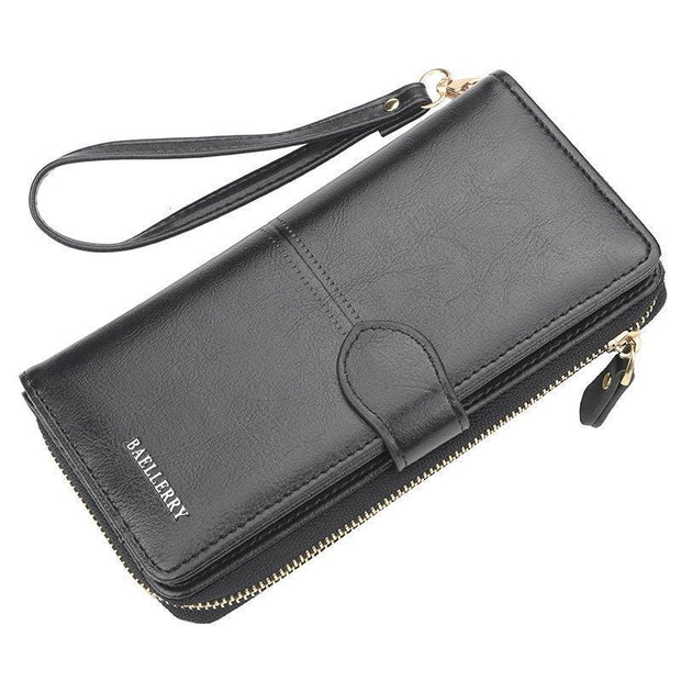 Large Capacity Multi-Function Wallet 127842 Black Women Bags Luggages