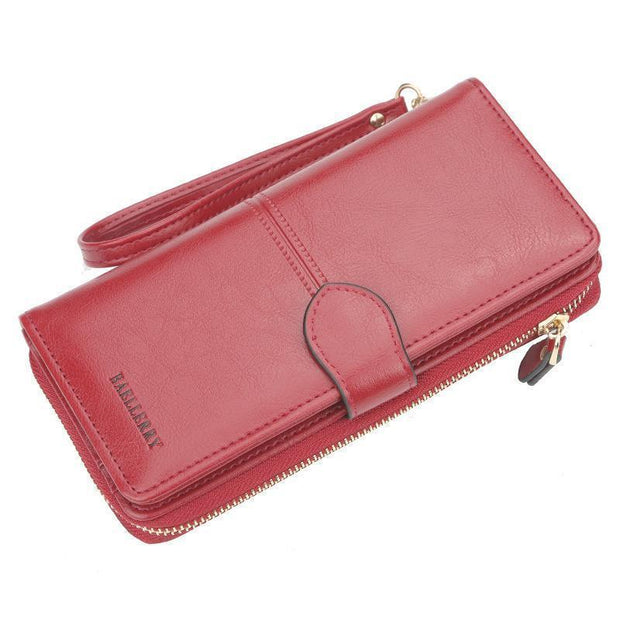 Large Capacity Multi-Function Wallet 127842 Red * Women Bags Luggages