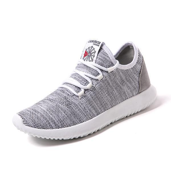 Summer Mens Fashion Wild Outdoor Flying Woven Sports Shoes Non-Slip Wearable Casual 128028 Gray / Us
